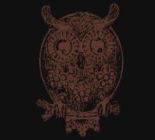 Cute Owl One Piece - Short Sleeve