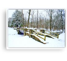 Let There Be Snow Canvas Print