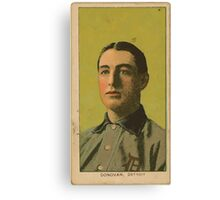 Benjamin K Edwards Collection Wild Bill Donovan Detroit Tigers baseball card portrait 002 Canvas Print