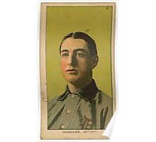 Benjamin K Edwards Collection Wild Bill Donovan Detroit Tigers baseball card portrait 002 Poster