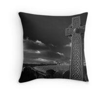 Old St. Stephen's Churchyard Throw Pillow