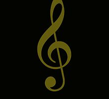 Treble Clef by Nick Martin
