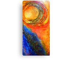 Birth of the Sun Canvas Print