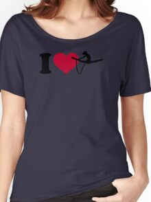 I love Gymnastics Women's Relaxed Fit T-Shirt