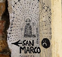 The way to San Marco by Alf Myers
