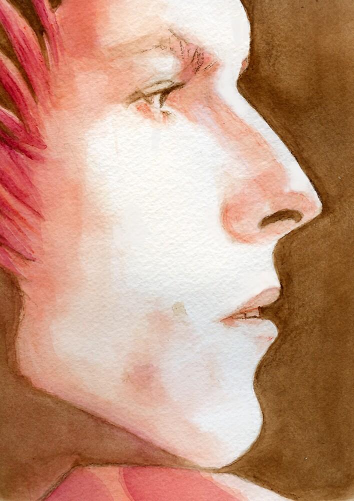 Ziggy Stardust by Karen Clark