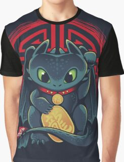 Maneki Dragon Graphic T-Shirt