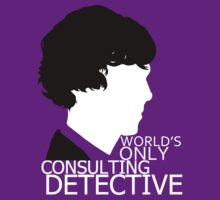 World's Only Consulting Detective V2 (for dark coloured tops) by drawingdream