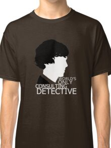 World's Only Consulting Detective V2 (for dark coloured tops) Classic T-Shirt