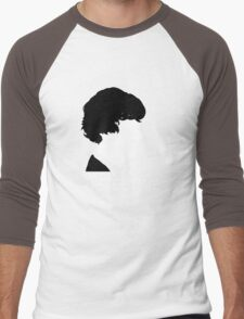 World's Only Consulting Detective V2 (for dark coloured tops) Men's Baseball ¾ T-Shirt
