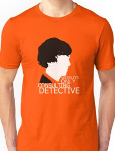World's Only Consulting Detective V2 (for dark coloured tops) Unisex T-Shirt