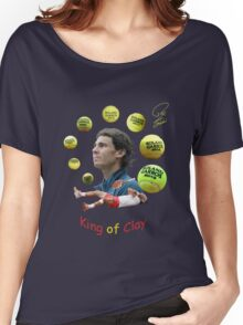 King of Clay Women's Relaxed Fit T-Shirt