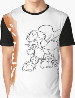 Entei Graphic T-Shirt