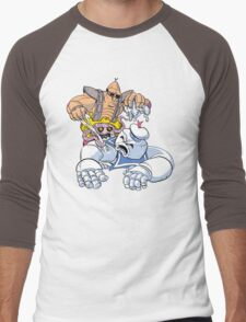 Mega Munchies Men's Baseball ¾ T-Shirt