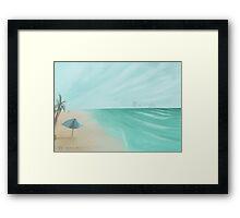 The Beach!  Framed Print