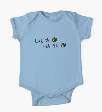 Let it Bee One Piece - Short Sleeve