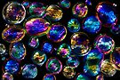 Rainbow Bubbles 3 by Andrew Bret Wallis