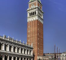 St Mark's Campanile by Tom Gomez