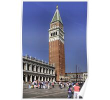 St Mark's Campanile Poster