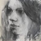 a face in charcoal by djones