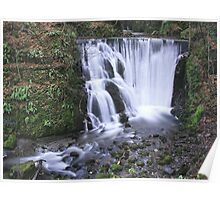 Alva Glen Waterfall Poster