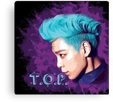 T.O.P ~ Big Bang Canvas Print