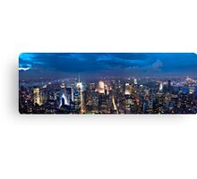 New York City Panorama Canvas Print