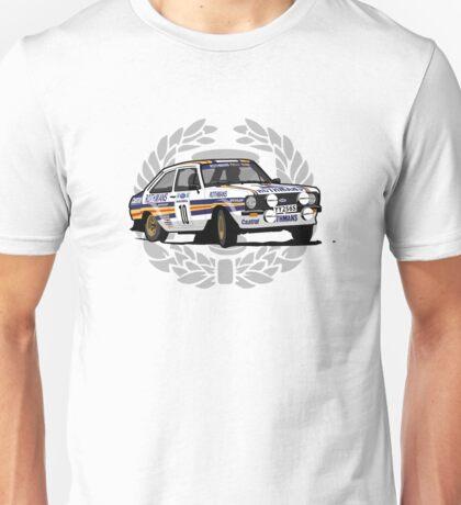 'Rothmans' Ford Escort Mark 2 BDA Cosworth T-Shirt Ver.2 Unisex T-Shirt