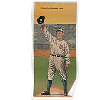 Benjamin K Edwards Collection Sam Crawford Tyrus R Cobb Detroit Tigers baseball card portrait Poster