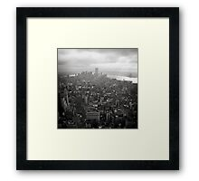 New York City Nostalgia Framed Print