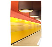 Underground Station in Berlin Poster