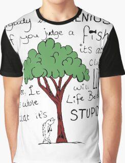 """""""Einstein's Fish"""" Graphic T-Shirt"""