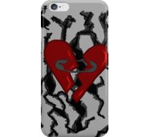 Safety Pin Graphic 1 iPhone Case/Skin