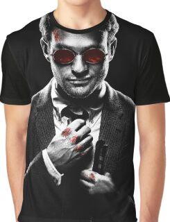 Sin City Matt Murdock [Transparent] Graphic T-Shirt