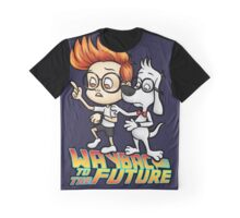 WAYBAC to the Future Graphic T-Shirt