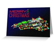 Merry Christmas from the Normandy - Style 1 Greeting Card