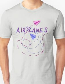 Airplanes Graphic Unisex T-Shirt