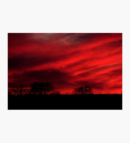 Red Rising Photographic Print