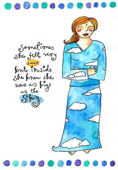 Sky Spirit by GoddessLeonie