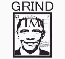 """Obama GrindTime"" GRINDN2GETIT TM CLOTHING One Piece - Short Sleeve"