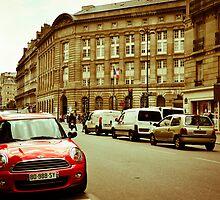 Paris Wears Red by BigHajjar