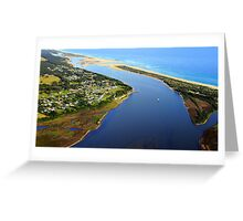Marlo .Vic. East Gippsland Greeting Card