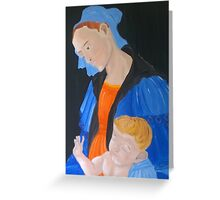 Mother & Child  Greeting Card