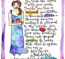 Writer Goddess by GoddessLeonie