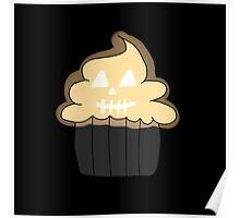 Jack o Lantern Cupcake  Poster