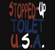 stopped-up toilet U.S.A. other version by frankshooter