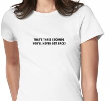Was it worth it? Womens Fitted T-Shirt