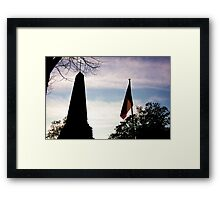 Parisian Rememberance Framed Print