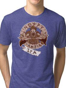 Hoppy Vampire IPA - Chocolate Stout Edition Tri-blend T-Shirt