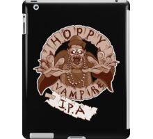 Hoppy Vampire IPA - Chocolate Stout Edition iPad Case/Skin